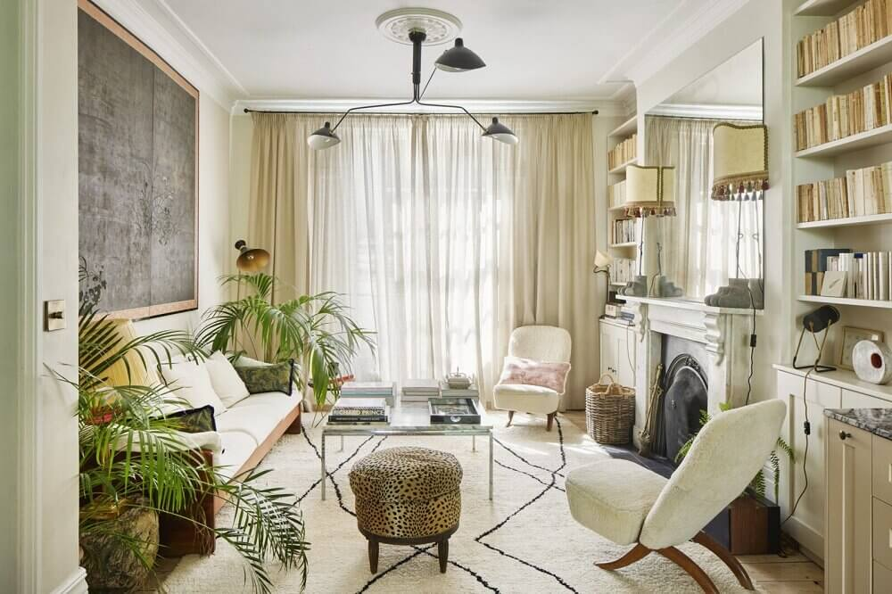 Serene Interiors in a Victorian Townhouse