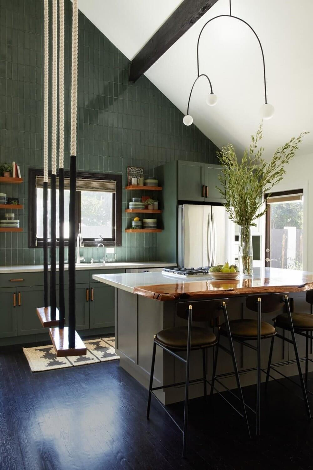 green-kitchen-cabinets-green-tiles-nordroom