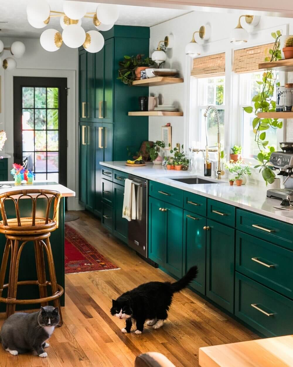 green-kitchen-cabinets-open-shelves-nordroom