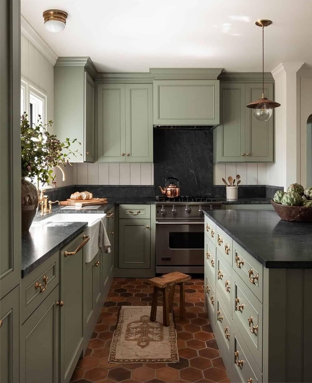 Green Kitchen Design Ideas