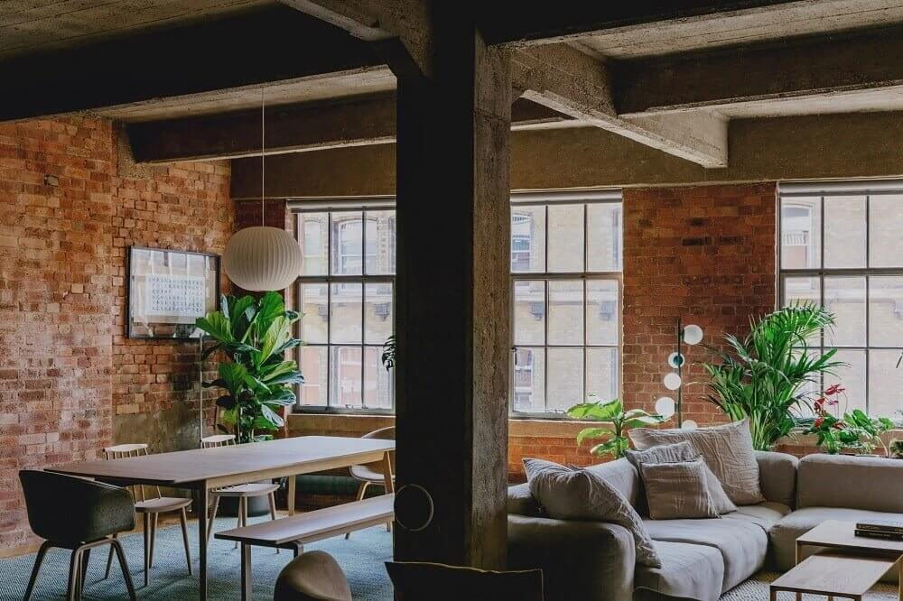 An Industrial Warehouse Apartment in London