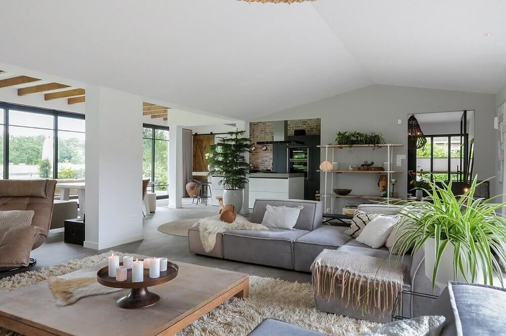 A Light Modern Bungalow in The Netherlands