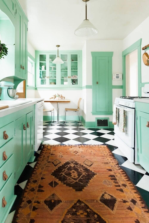 mint-green-kitchen-checkerboard-floor-nordroom