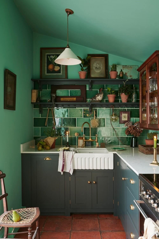 small-kitchen-green-tiles-green-walls-devol-nordroom