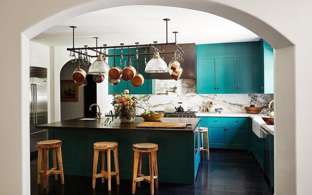 teal-green-kitchen-kendall-jenner-nordroom