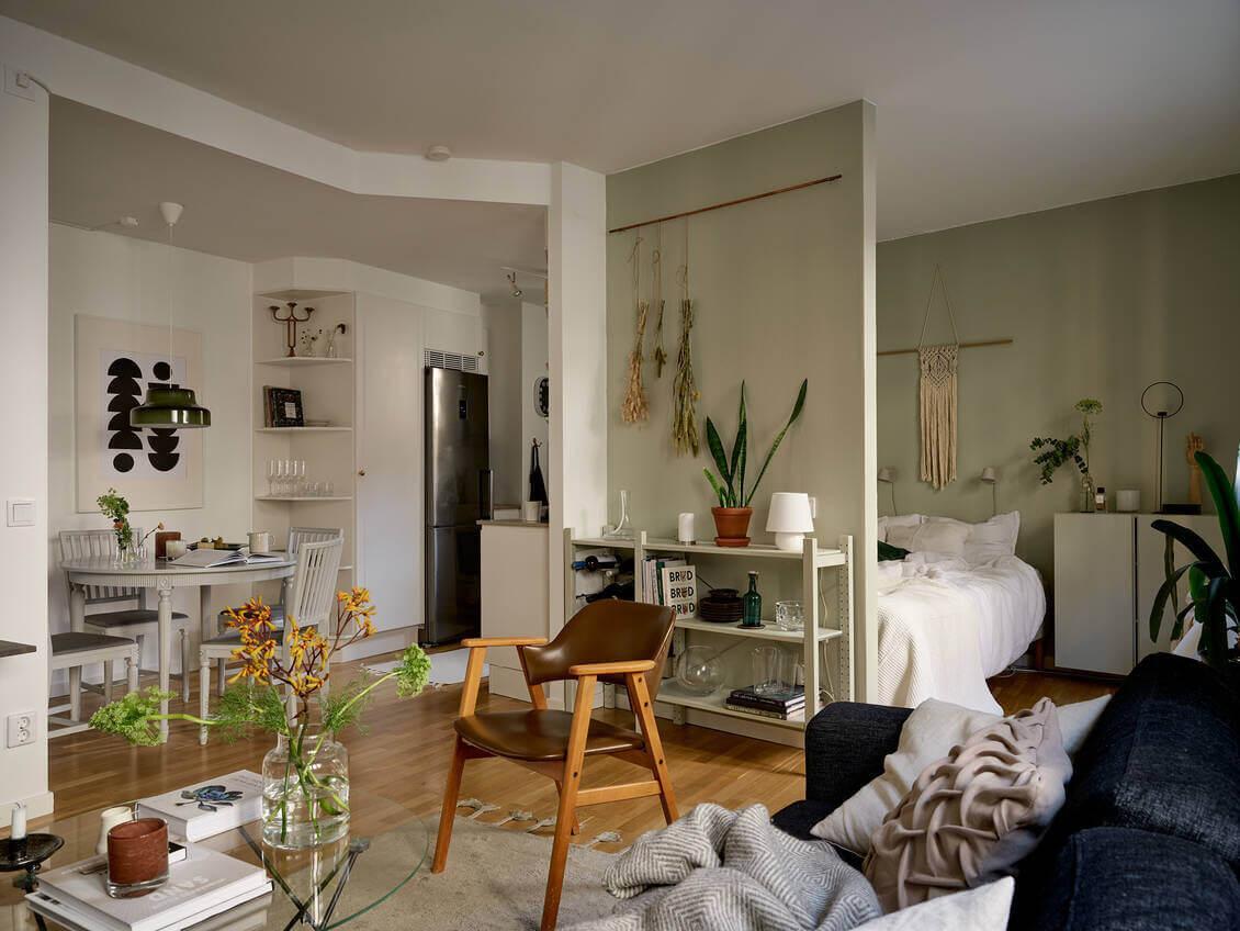 A Cozy Studio Apartment in Sweden