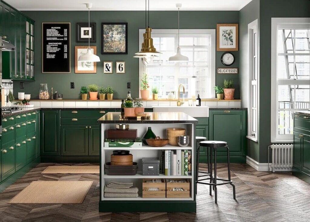 green-ikea-kitchen-island-ikea-catalog-2022-nordroom
