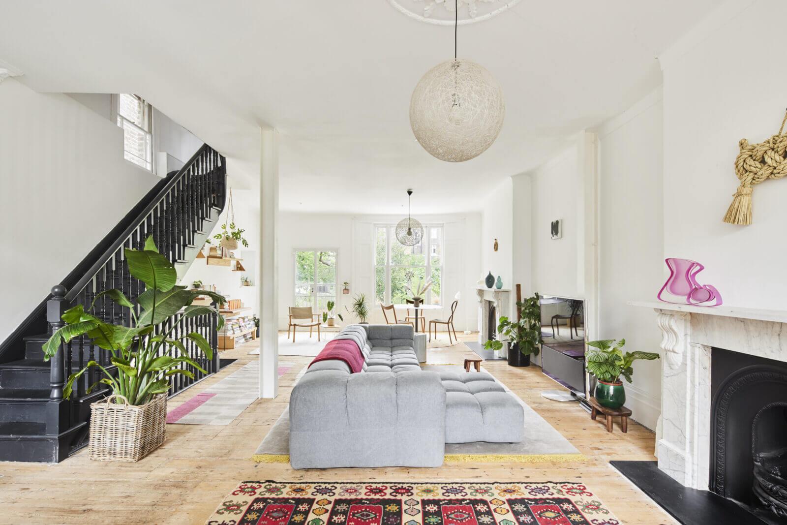 An Open-Plan Victorian House in London