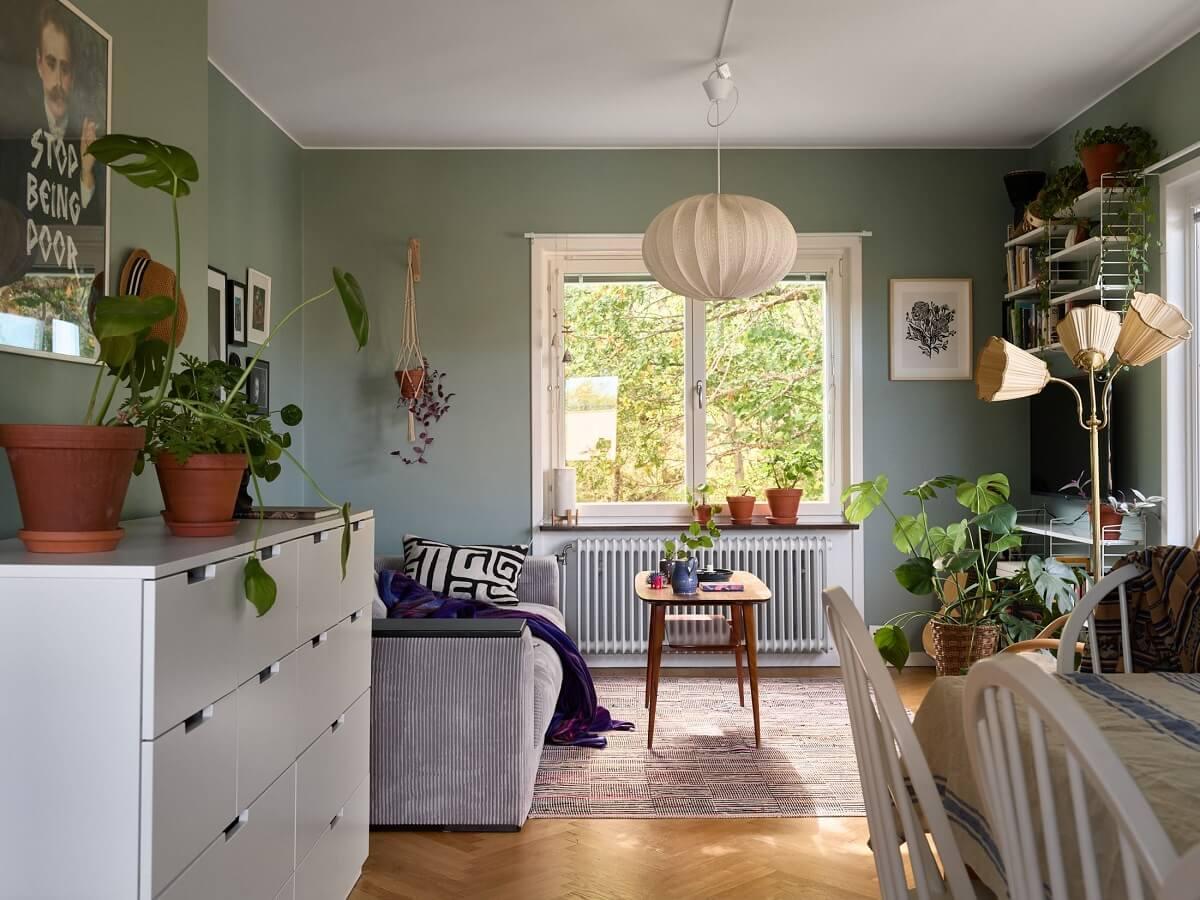 A Natural Scandi Boho Apartment