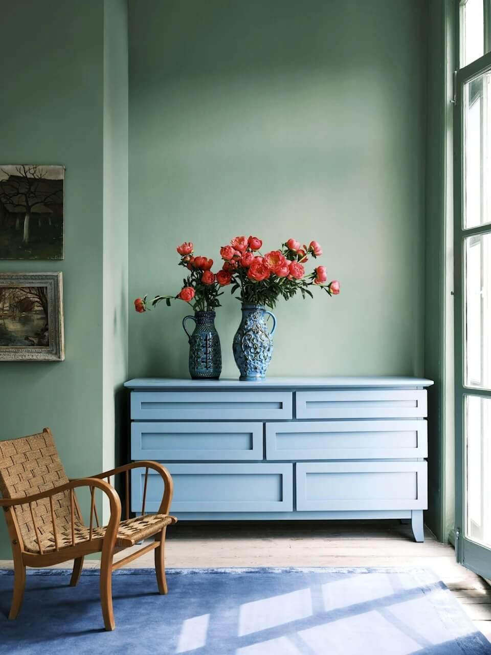 breakfast-room-green-farrow-ball-colour-trends-2022-nordroom