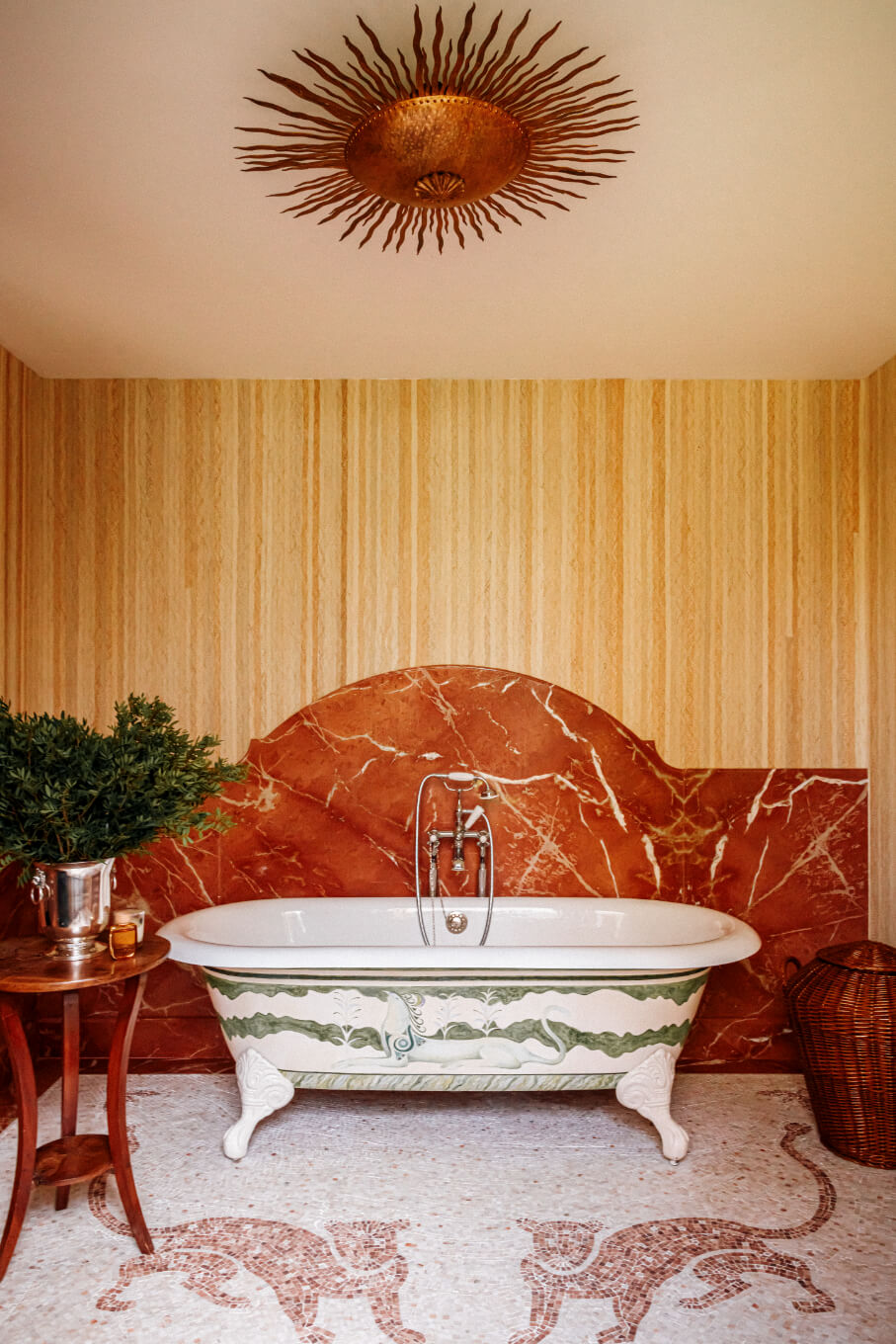 clawfoot-bath-eclectic-french-villa-nordroom