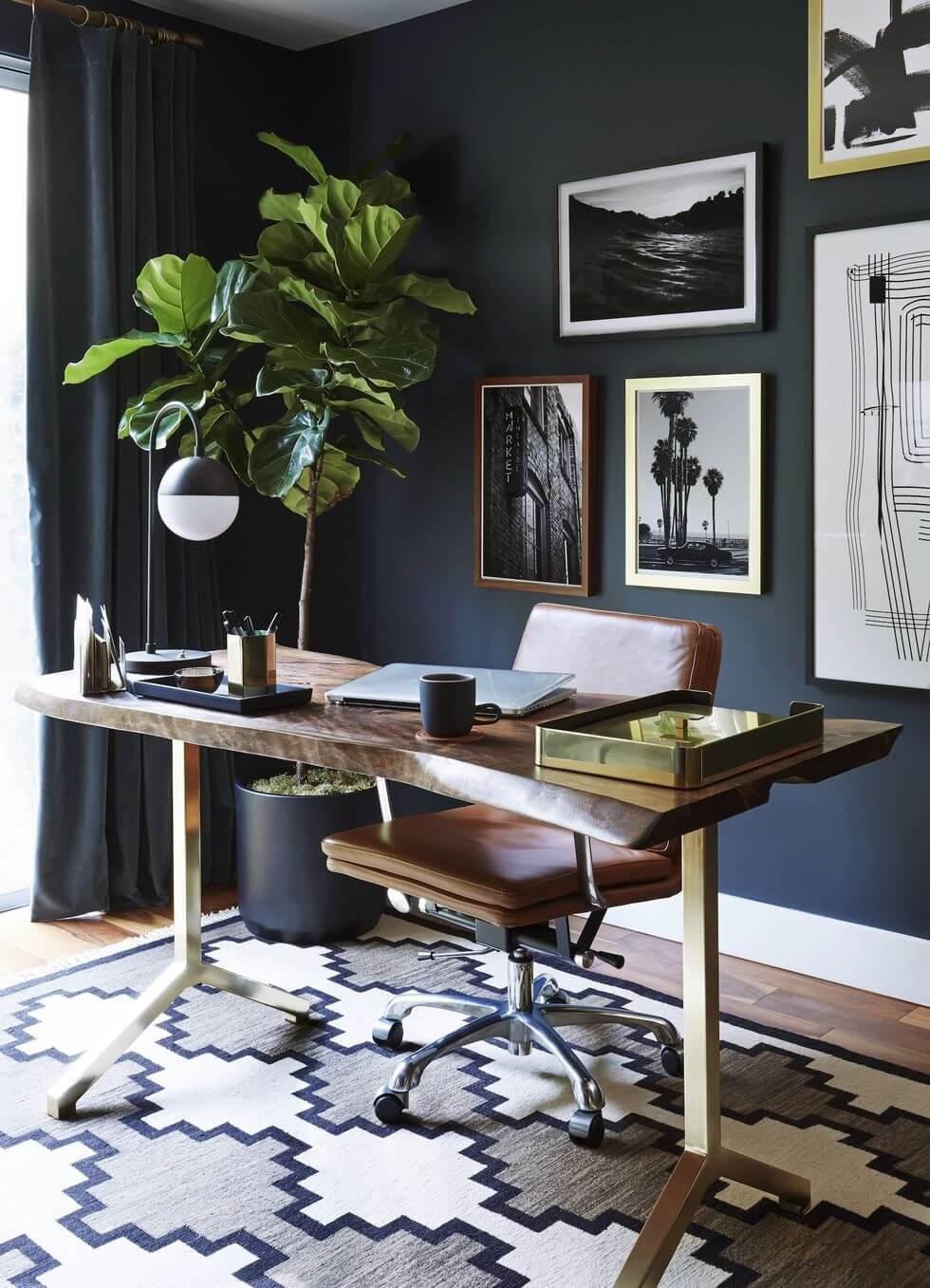 dulux-color-forecast-2022-dark-blue-gold-office-nordroom