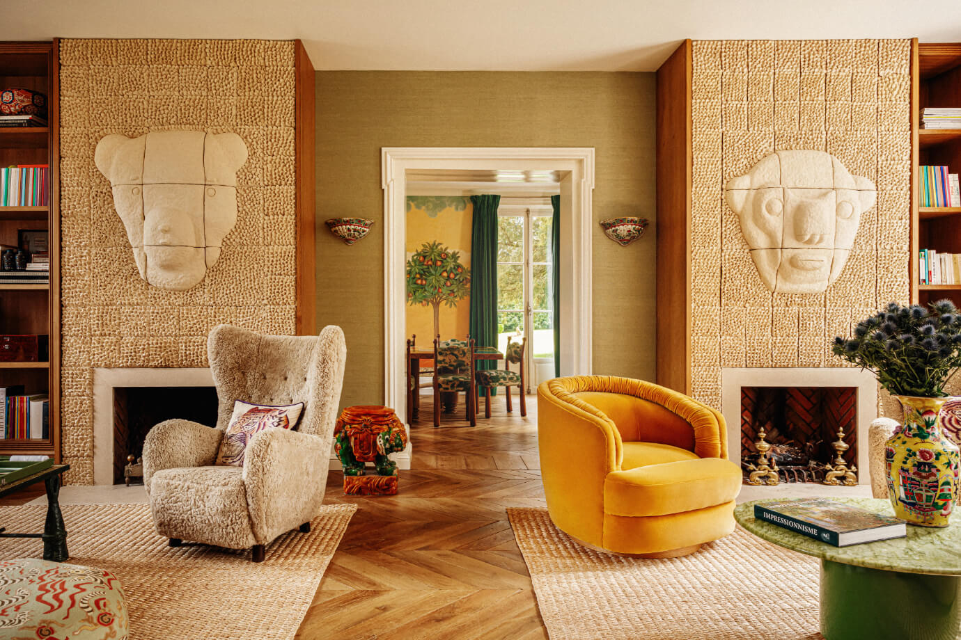 living-room-texture-eclectic-fireplace-french-villa-nordroom