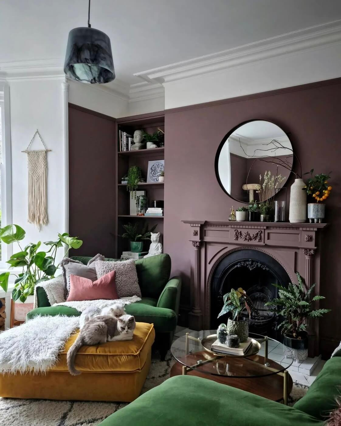 Heather's Colorful Eclectic Home in Scotland