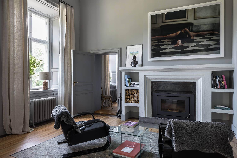 sitting-area-fireplace-castle-conversion-sweden-nordroom