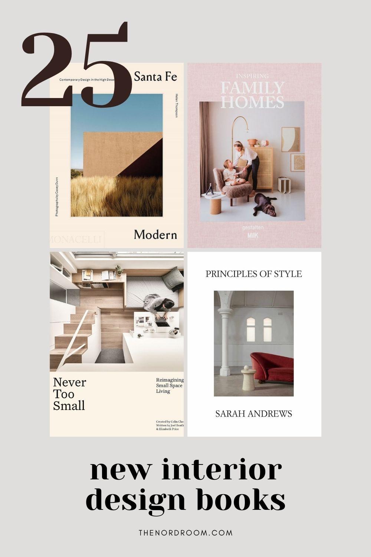 25 New Interior Design Books – October 2021