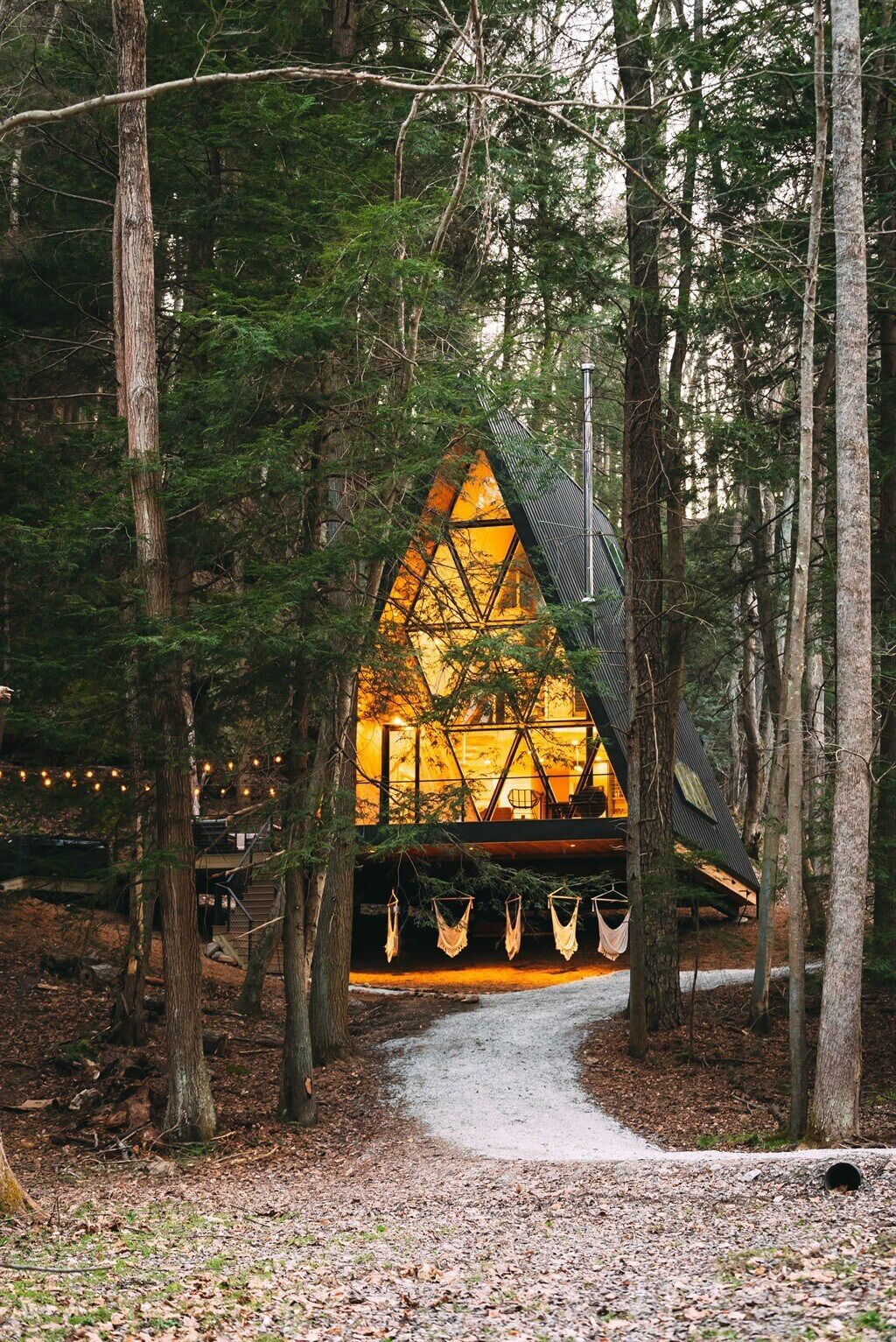 Dunlap Hollow A-Frame Cabin in Ohio