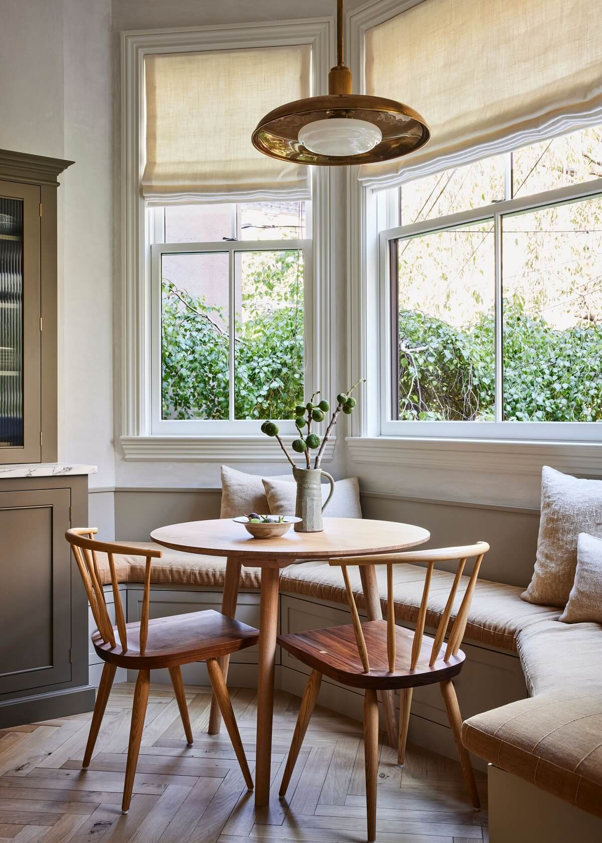 Soothing Tones in a Victorian Brownstone in Jersey City